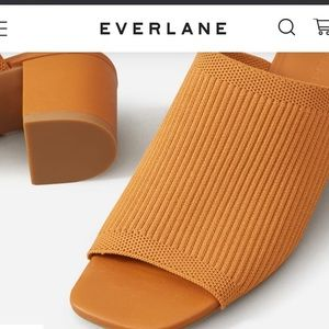 Everlane The Glove Mule in ReKnit brown  size 11
